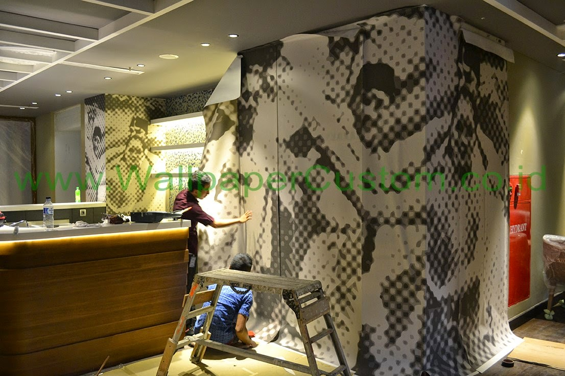 Jual Wallpaper Dinding 3D Murah Gambar Pemandangan Alam CV
