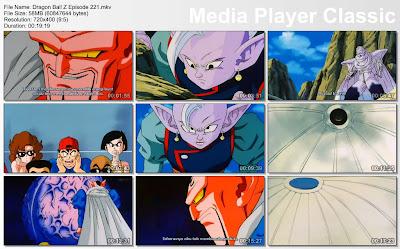 Download Film / Anime Dragon Ball Z Majin Buu Saga Episode 221 Bahasa