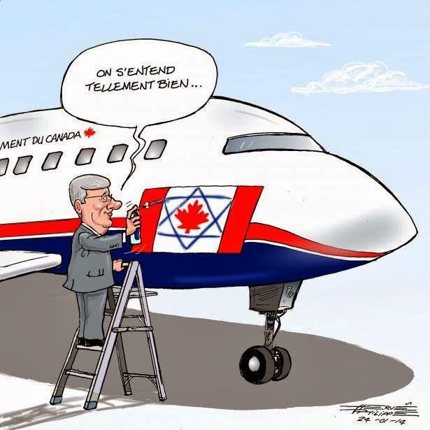 Harper à Jérusalem