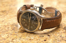 James' IWC Mark XII on Desert Tan Ostrich Leg skin