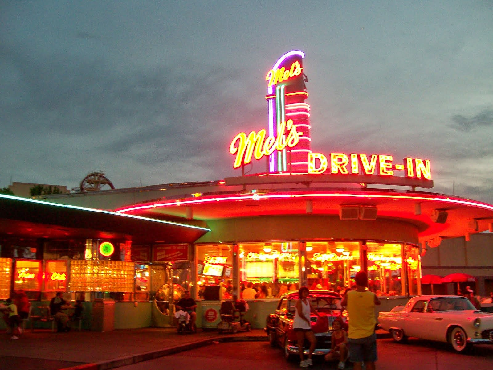 mels drivein california diner - HD 1600×1200