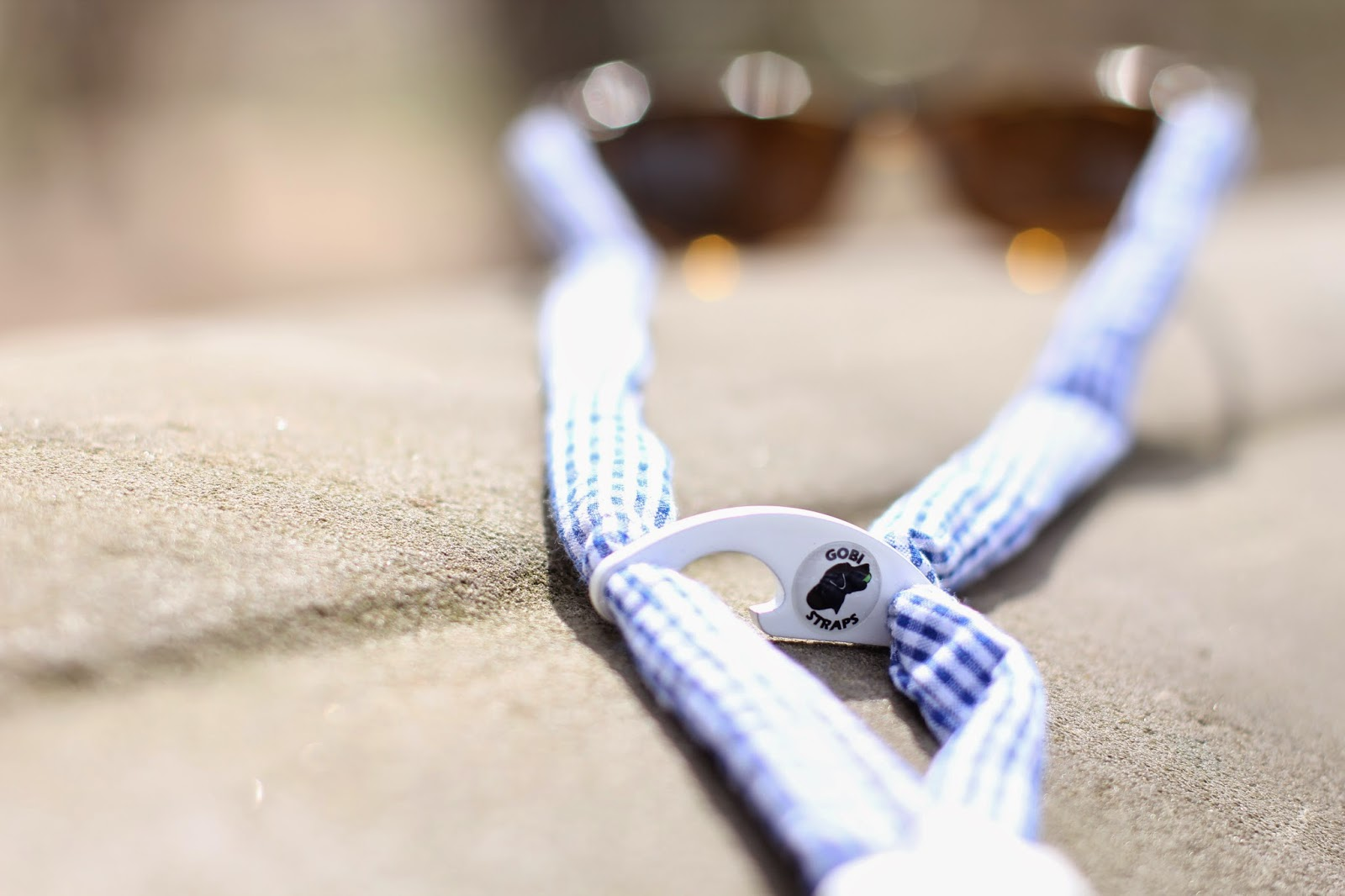 gobi straps, preppy croakies, seersucker croakies