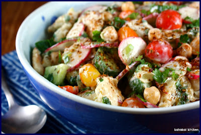 na ama s fattoush adapted from jerusalem by yotam ottolenghi