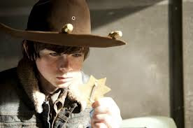 The Walking Dead S03E16. Welcome to the Tombs Carl