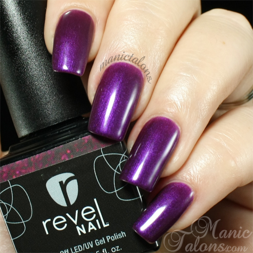Revel Nail Gel Polish Queen Swatch