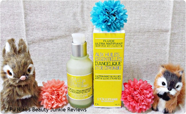 L'Occitane Angelica Ultra Matte Fluid Giveaway