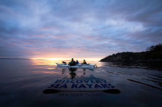 Sunset Kayak Tour with Discovery Sea Kayaks