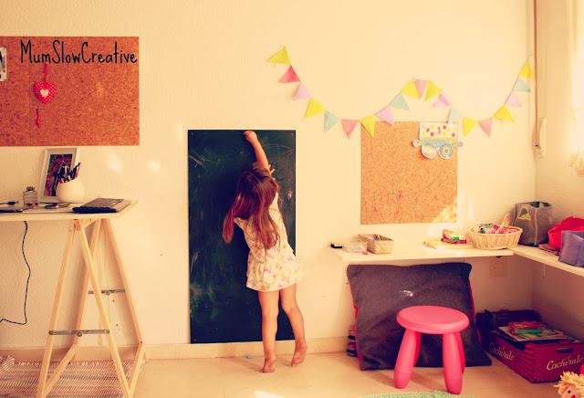 espacio de juego para niños mumslowcreative