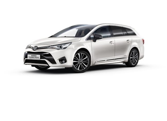 news toyota s rie salomon pour l 39 auris hybride et l 39 avensis touring sports. Black Bedroom Furniture Sets. Home Design Ideas