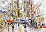 Schöner alter Markt ...