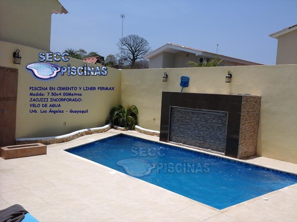 Secc piscinas piscinas en cemento y liner permax cuenta for Construccion de piscinas en ecuador