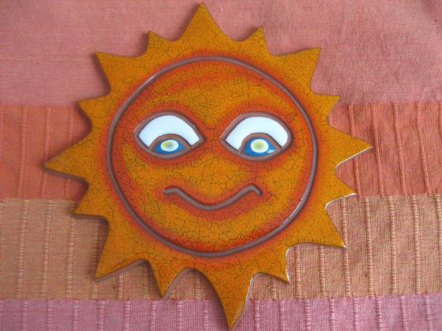 keraaminen aurinko