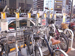 Bicycle Parking in Tokyo