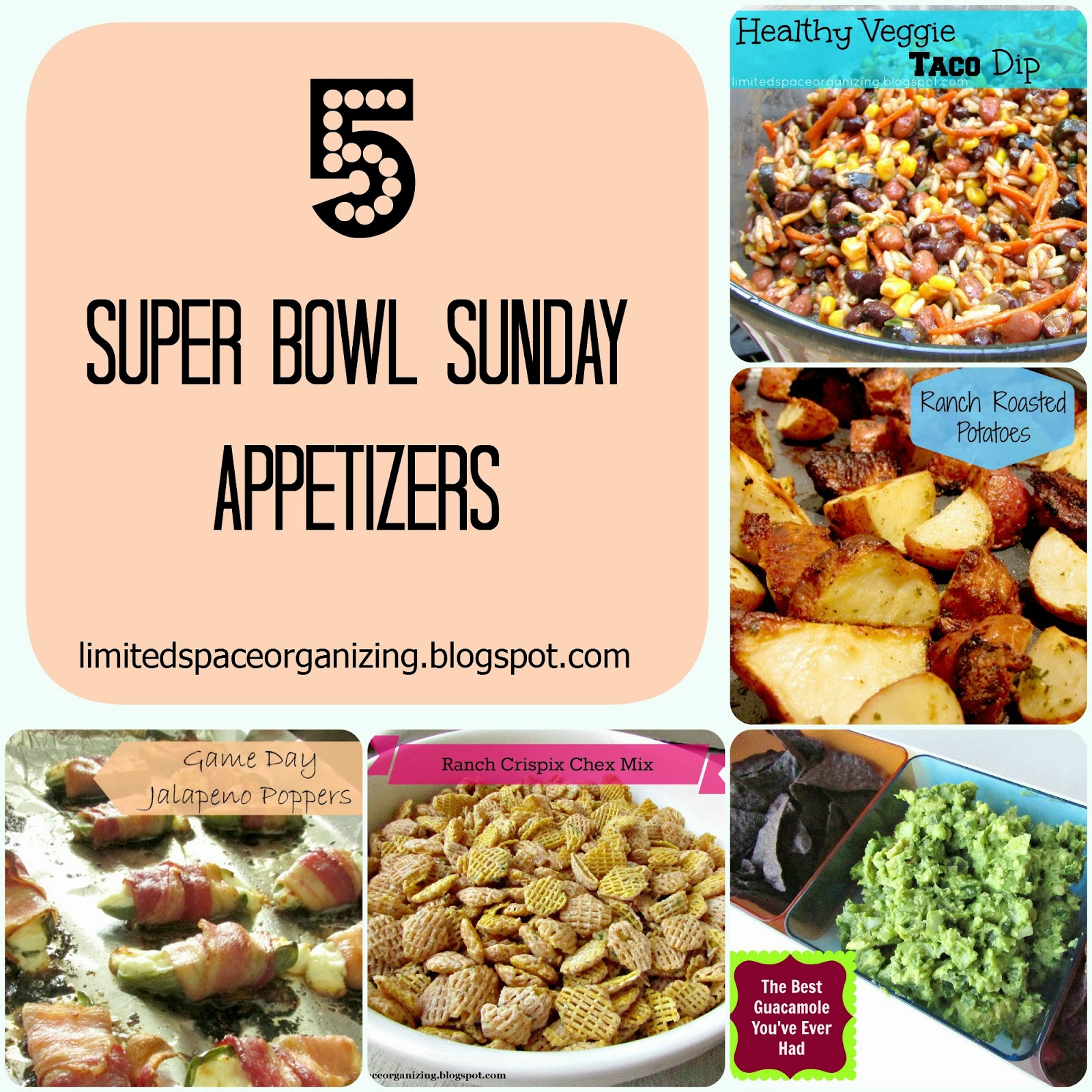 5 Super Bowl Sunday Appetizers