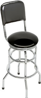 Classic Black Bar stool