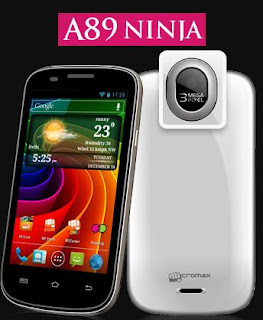 Micromax A89 Ninja price in India image