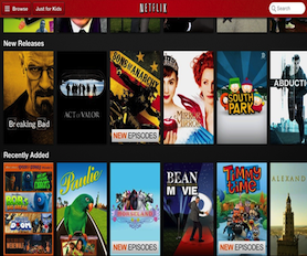 New Releases from Netflix Instant