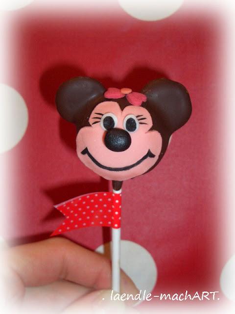 Minnie-Cake-Pop, selber machen, Tutorial, Anleitung