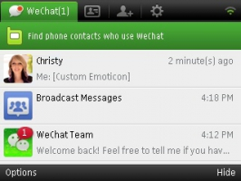 Download WeChat 4.0 For Symbian