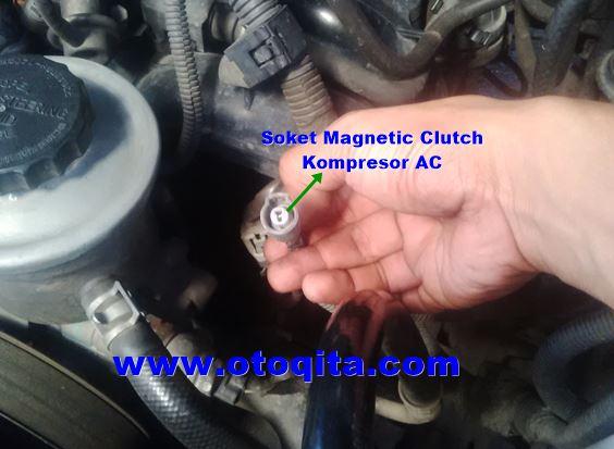 gambar soket magnetic clutch dibawah pompa power steering