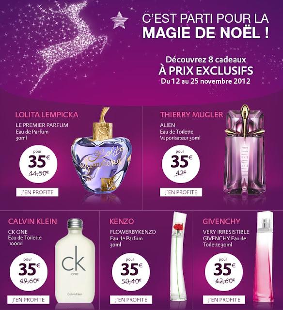 Marionnaud: parfums à 35€