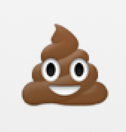 knows you're not emoji-ing about coneless chocolate soft serve
