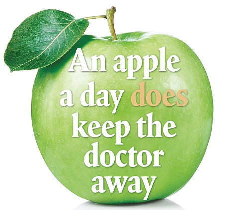 Benefits of eating apple a day