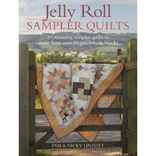 JELLY ROLL SAMPLER QUILTS by Pam & Nicky Lintott