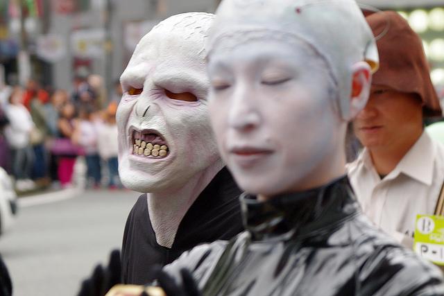 японский хеллоуин