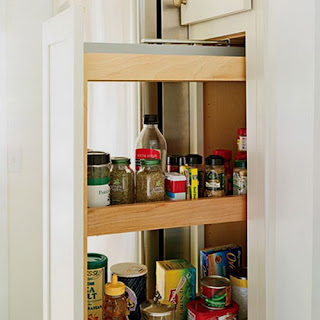Estantes y cajones de cocina ideas de almacenaje for Como hacer estantes de cocina