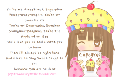 Cuppy Cake Song Images : The Cuppy Cake Song A Dose Of Orange Ink