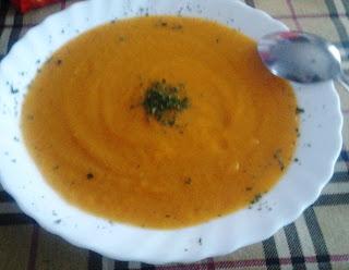 Crema de verduras casera