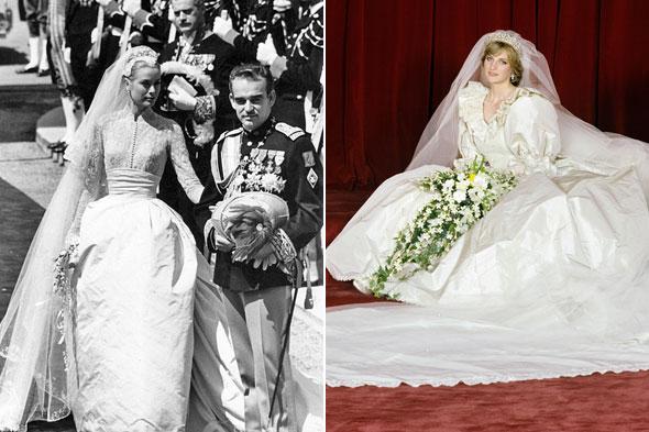 princess grace kelly wedding dress. Royal Wedding Dresses