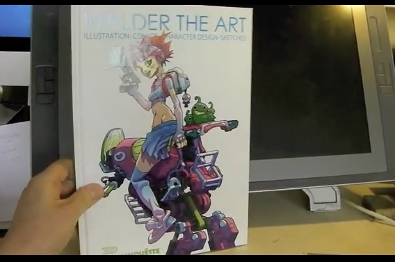 Walder the art book - review - video