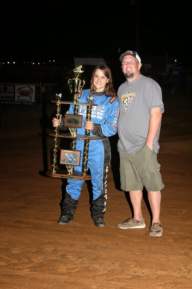2014 Central PA 358 Point Series Most Popular Driver Ashley Cappetta