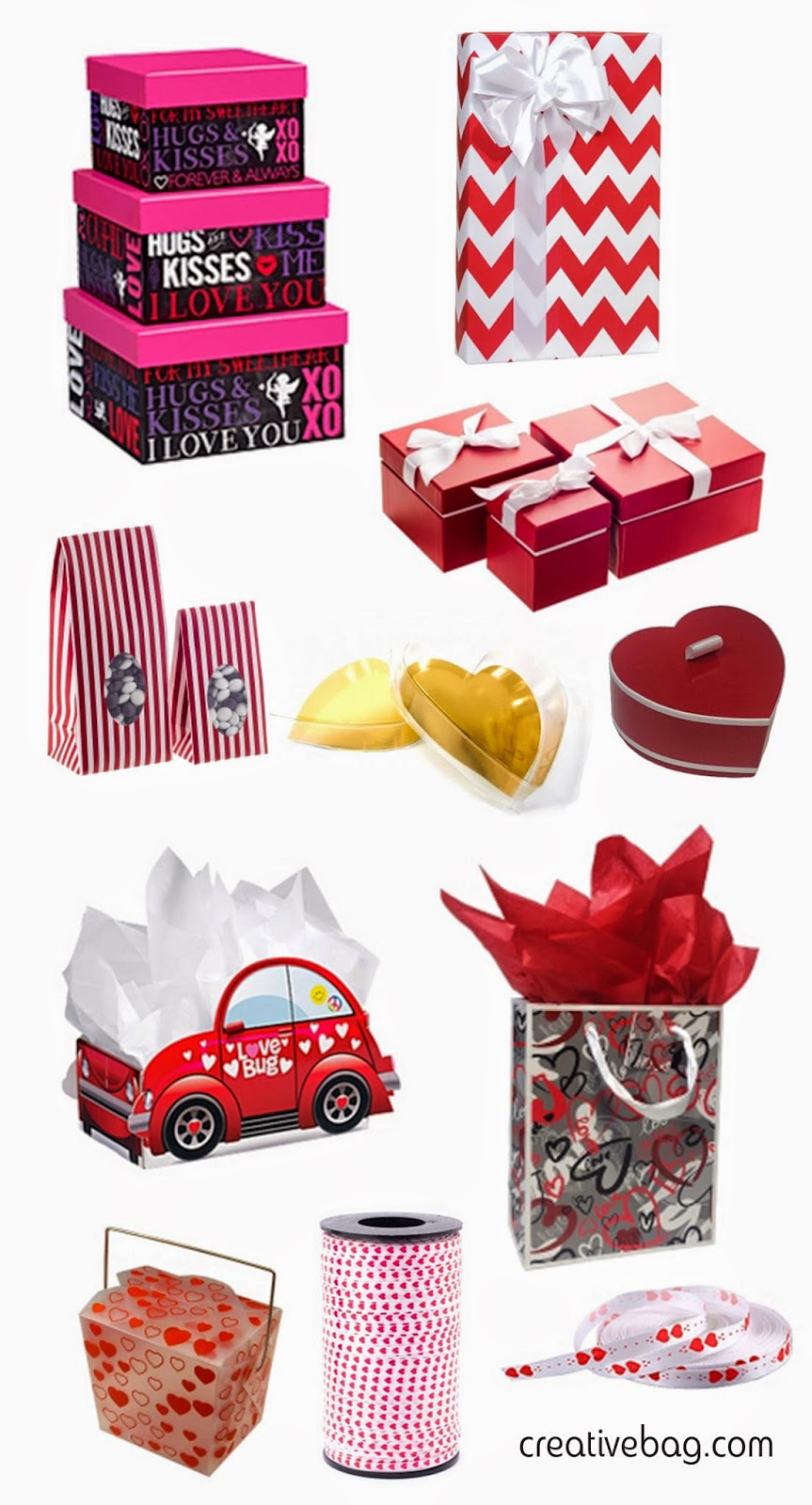 Valentine packaging   Creative Bag
