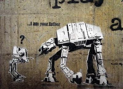 Banksy Graffiti Characters Art Robot Design