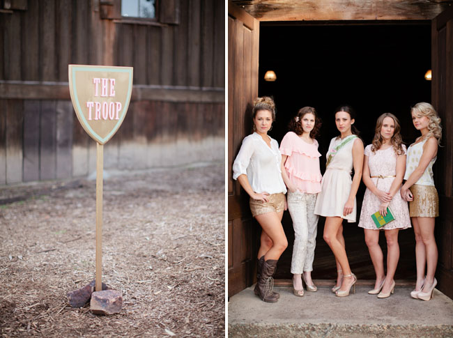 Our Love In October Pretty Love A Girl Scout Bridal Shower
