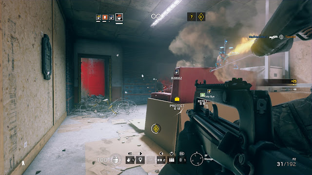 Tom Clancy's Rainbow Six Siege shootout killhouse