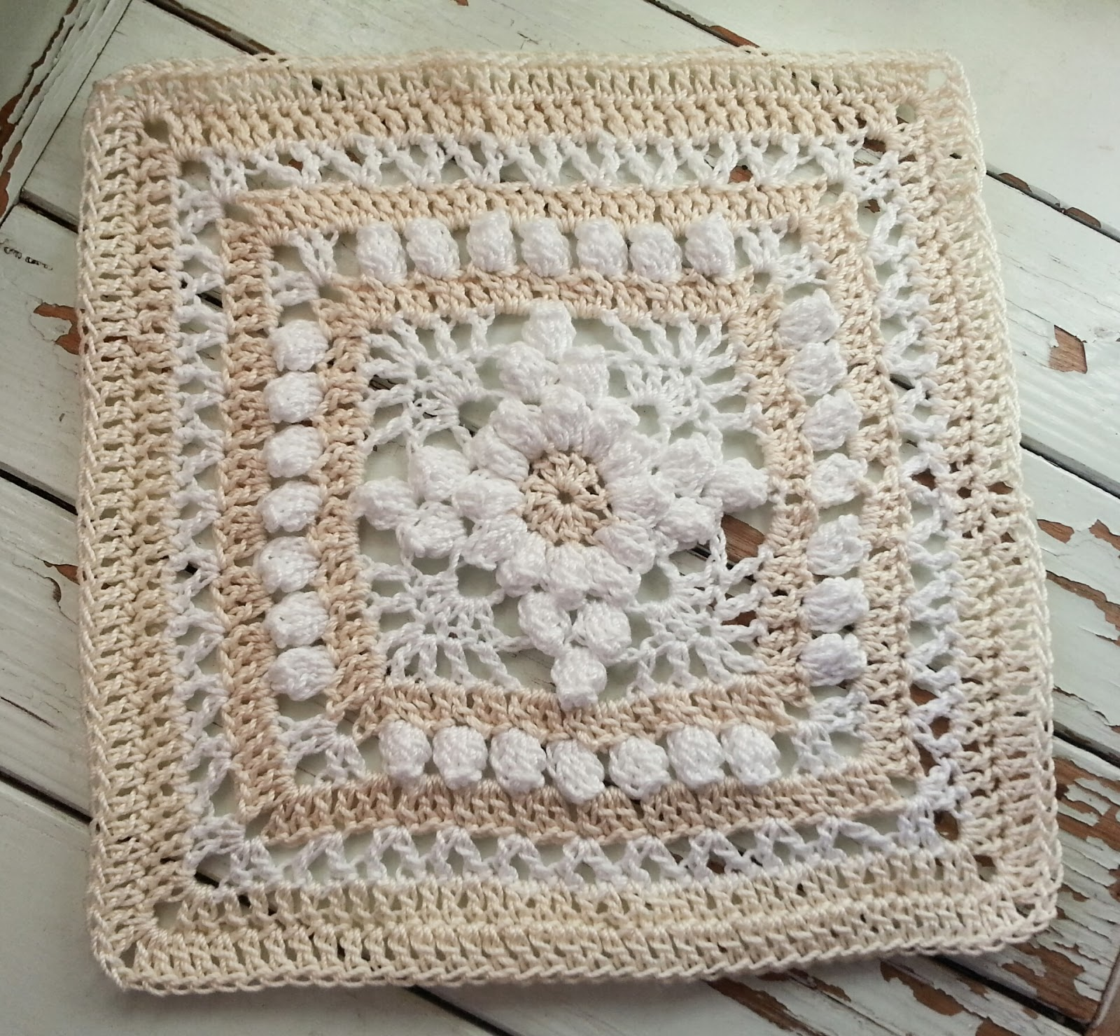 Crocheting Squares : Lace and Whimsy: Monday Heirloom Mystery CAL Crochet Square