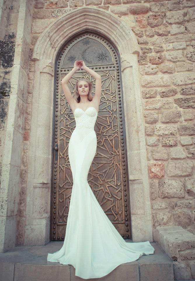 Свадебные платья yaki ravid 2012