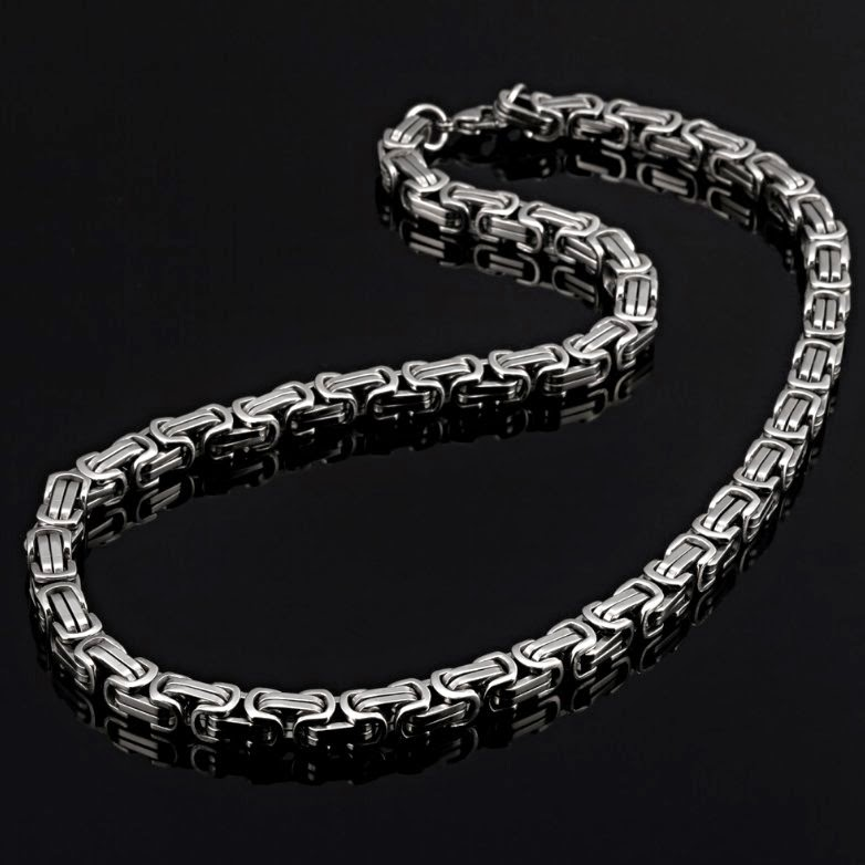 Styles Of Mens Chain Necklaces And Bracelets