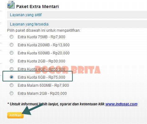 Cara Daftar Paket Extra Kuota Indosat Mentari, IM3 Lewat HP, Android dan Modem