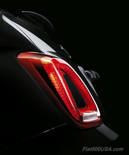 2016 Fiat 500 LED Tailight