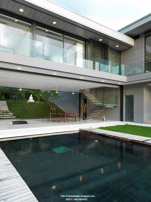 les plus beaux hotels design du monde villa amanzi by original vision phuket thailande. Black Bedroom Furniture Sets. Home Design Ideas