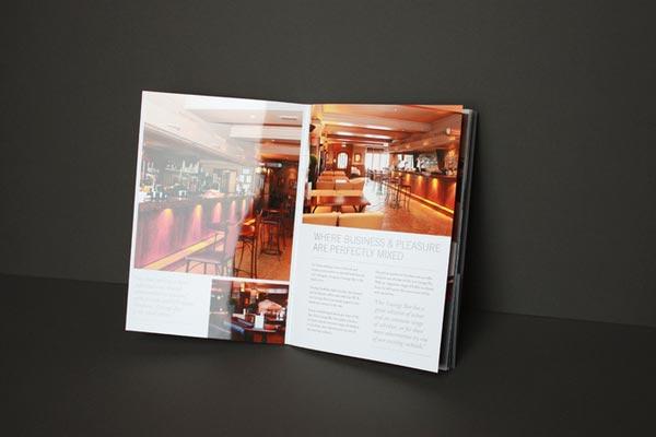 hotel pamphlet