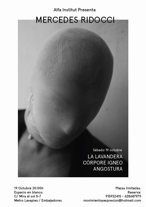 VÍDEOS DE MERCEDES RIDOCCI - COMPOSICIONES ESCÉNICAS EN SOLITARIO
