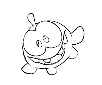 #1 Cut The Rope Coloring Page