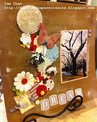 Iron Stampers Stampin' Up! Scrapbook by Ida Chan, Vancouver