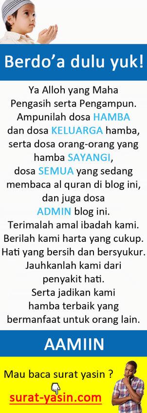 Baca Do'a Dulu Yuk!